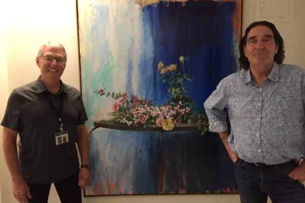 Renowned artist brings life to Queens General Hospital